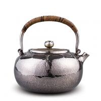 合川银器 纯银 荷包银壶价格