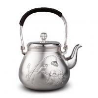 合川银器 纯银 喜从天降银壶价格