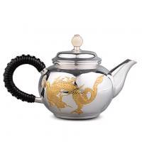 龙凤雕金乌龙茶壶